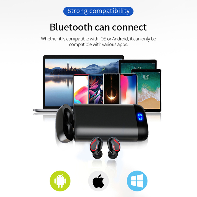 Stereo Sport Wirelesss Earbuds headset  6