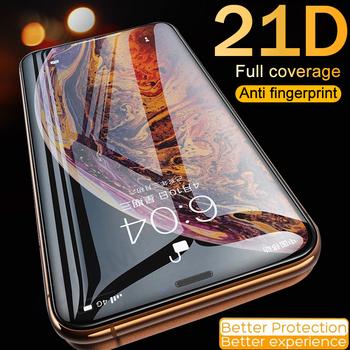 Szkło hartowane dla iPhone 11 Pro Max osłona ekranu 11 Pro Max 11 Max Pro ochraniacz 6 6S 7 8 Plus X Xs Max Se 2020 Xr 8 Plus tanie i dobre opinie Kupem Jasne TEMPERED GLASS CN (pochodzenie) APPLE Przedni Film Hydrogel film Protector Film Protective Glass Protector Glass