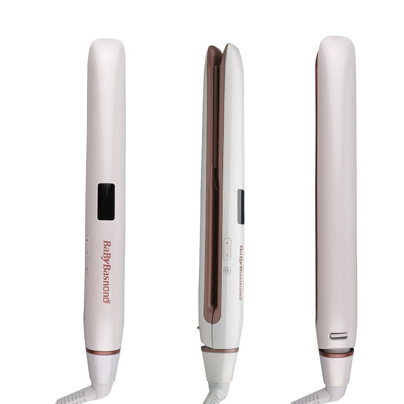 Professional Hair Straightener Curler Flat Iron Negative Ion wand ionic Curling Iron Temperature Control Digital Display LED