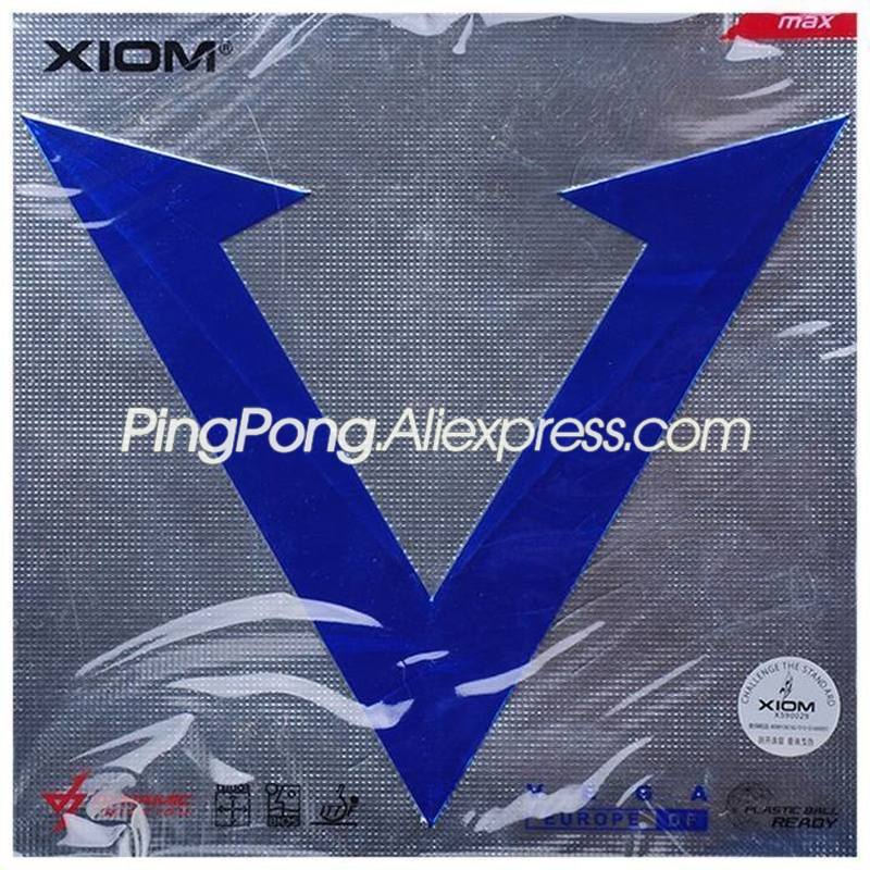 XIOM VEGA Europe DF Table Tennis Rubber Original XIOM VEGA EURO Ping Pong Sponge