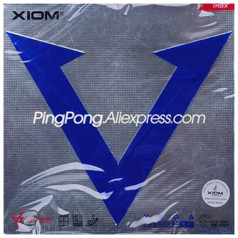 XIOM VEGA Europe DF Table Tennis Rubber Original XIOM VEGA EURO Ping Pong Sponge