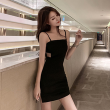 Dress Backless Costume-Clothes Night-Club Party Small Summer Sexy Women Vestido Slimming-Strap