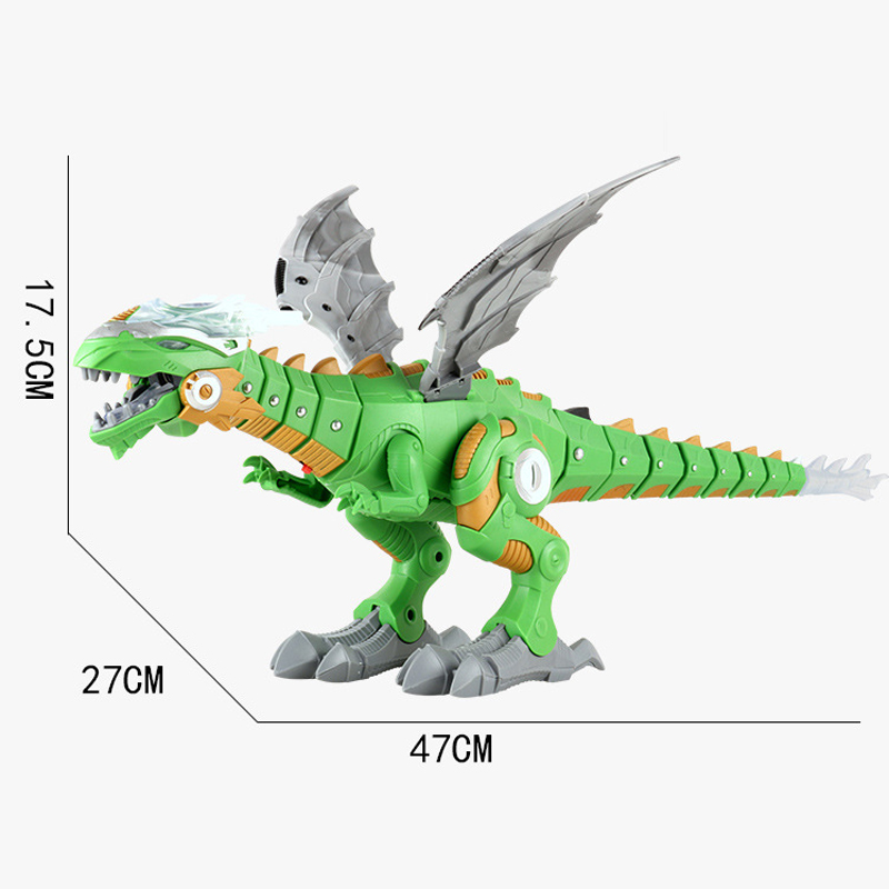 dos desenhos animados eletrônico andando modelo animal