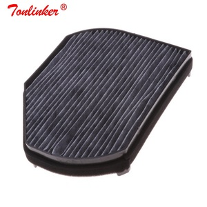 Image 4 - Araba kabin filtresi Oem A2028300018 Mercedes CLK A208 C208 1997 2003/SLK R170 1996 2004 modeli 1 adet aktif karbon filtre