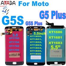 Original For Motorola Moto G5S Plus XT1802 XT1803 XT1805 XT1086 G5 Plus XT1686 XT1681 XT1683 Lcd Display Touch Screen Assembly