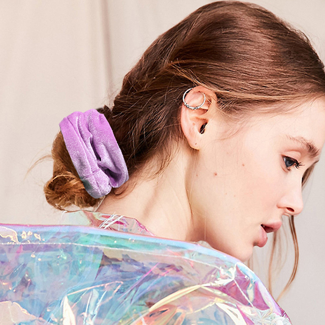 6 / 5 / 4 pièces/ensemble filles velours soie élastique bandes de cheveux bandeau Scrunchie élastique femmes élastique pour queue de cheval accessoires de cheveux