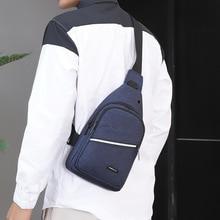 Large Capacity Men Shoulder Bags Waterproof Travel Sling One Strap Chest Bag Male Outdoor Casual Crossbody Messenger Bags Bolsas