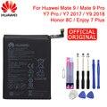Мазь Хуа Вэй оригинальный телефон Батарея HB396689ECW 3900 ма-ч для huawei Коврики 9/Коврики 9 Pro Honor 8C/Y7 Pro 2017 Y9 2018 Enjoy 7 Plus