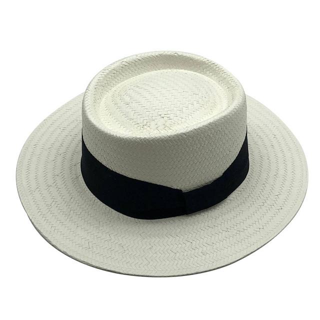 Sombrero de paja Natural hecho a mano