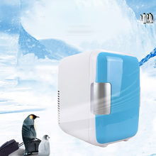 Carro portátil freezer 4l mini geladeira geladeira geladeira carro 12v refrigerador aquecedor universal veículo peças refrigerateur # g38