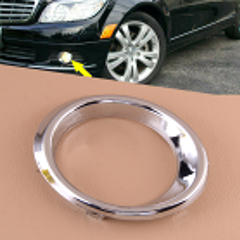 Front Left Side Bumper Fog Light Cover Fit For Mercedes Benz C Class W204 C300 C350 2008 2009 2010 2011 2048850574 image