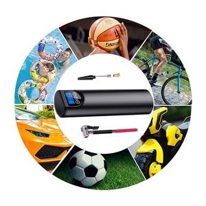 Image 5 - 12V 150PSI אוויר מדחס חשמלי משאבת אוויר עם צמיג לחץ LCD תצוגה אלחוטי נייד הצמיגים Inflator לרכב אופניים