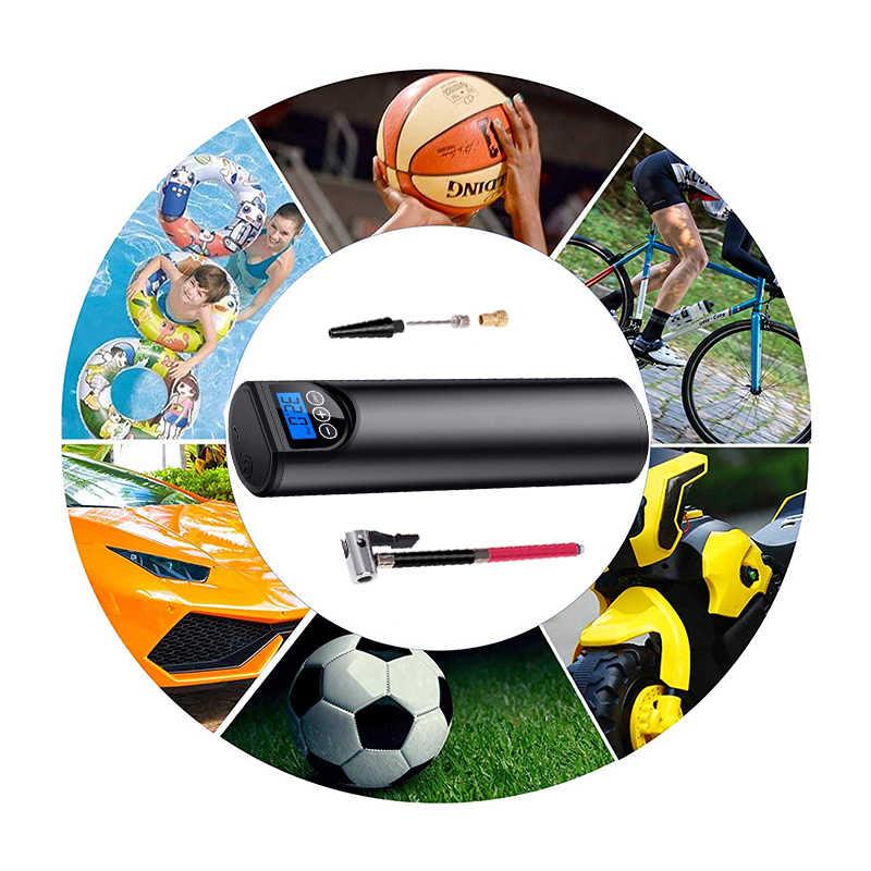 12V 150PSI אוויר מדחס חשמלי משאבת אוויר עם צמיג לחץ LCD תצוגה אלחוטי נייד הצמיגים Inflator לרכב אופניים