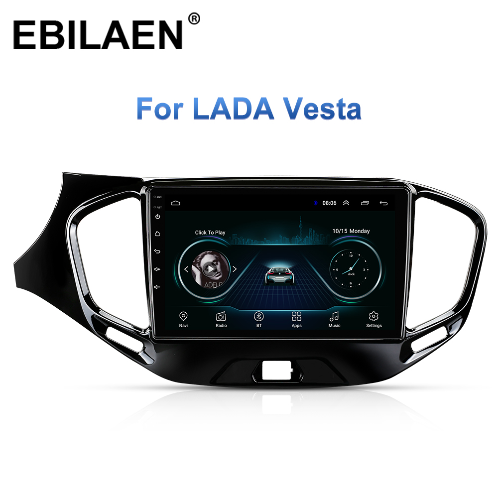 Car Multimedia Player For Lada Vesta Cross Sport 2015-2019 2Din Android 8.1 Car Radio Stereo Navigation AutoRadio GPS Wifi