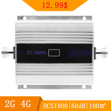 2G 4G Signal Booster Repeater DCS LTE 1800 Mobile Phone Band 3 Cell Phone Cellular Amplifier Communication Repeater LCD Display- dcs et 850 cell phone mobile phone signal repeater booster amplifier silver