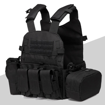 6094 Tactical Molle Vest Military Army Combat Training Body Armor Outdoor Hunting Airsoft Sport Protection Vests tactical vest navy lightweight vest training combat vests cs military airsoft hunting protective combat safety equipment