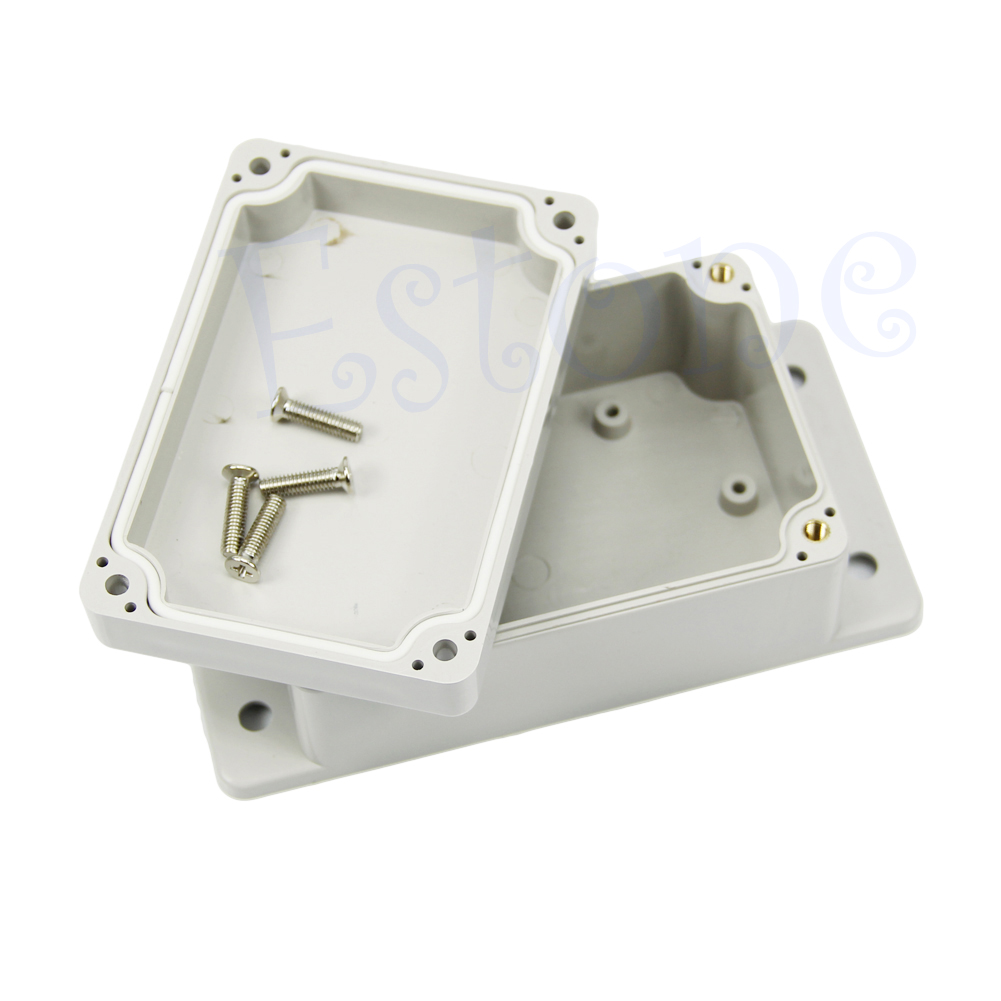 Waterproof Plastic Electronic Project Box Case Enclosure 3.94