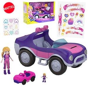 Polly Pocket Original Car Toy Mini doll