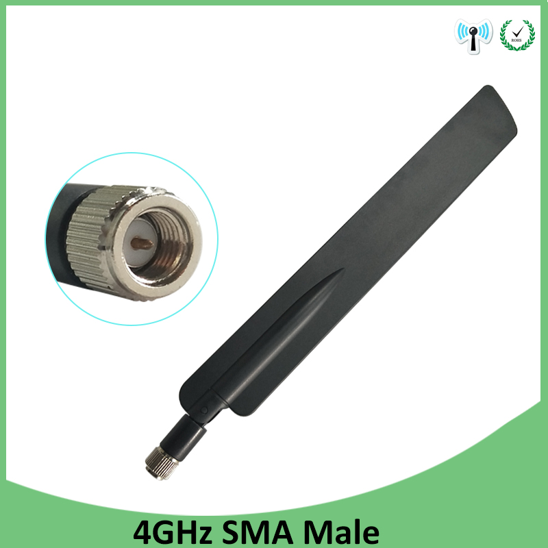 4G Lte Antenna 5dbi SMA Male Connector Plug Antenne For Huawei B593 4G LTE Router External Repeater Wireless Modem Antennas