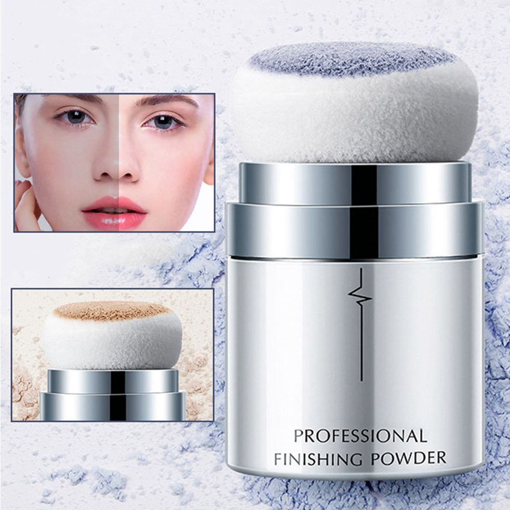 Pudaier Loose Powder Mushroom Face Contour Oil-control Finishing Powder Makeup Foundation Setting Powder polvos maquillaje image