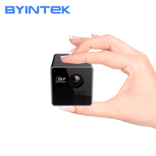 P1 USB Video Micro DLP Byintek Mini PhonePortable Intelligent Projector Smart