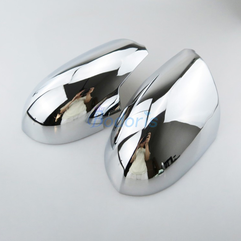 Side Wing Door <font><b>Mirror</b></font> Cover Rear View Overlay <font><b>Chrome</b></font> Car Styling 2010 2011 2012 2013 2014 2015 For <font><b>Kia</b></font> Sportage Accessories image
