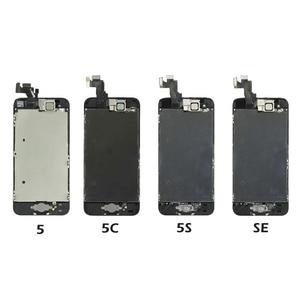 Image 3 - Full Set Komplett Montiert LCD Display Für iPhone 6 6S 7 8 Plus LCD Touch Screen Digitizer Für iPhone 5S 5C 5 + Front Kamera
