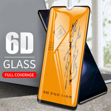 6D מלא כיסוי מזג זכוכית עבור Oneplus 8 פרו 7 7T מסך מגן עבור Oneplus 6 6T 5 5T מעוקל קצה סרט אחד בתוספת