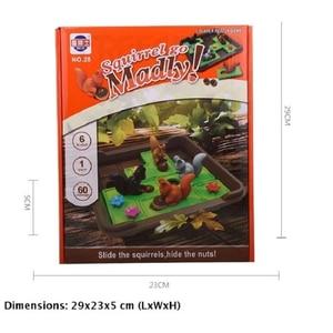 Image 5 - リスナットを行くスライドパズル旅行ゲーム子供のための認知スキル脳ゲーム年齢のため6 60チャレンジで旅行にやさしいケース