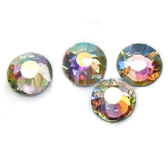 <font><b>1000</b></font> Pcs Round Flatback Scrapbooking <font><b>DIY</b></font> Craft Rhinestone Beads Nail Decorations Nail Art & Tools image