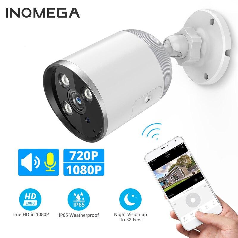 INQMEGA 720P 1080P WIFI IP Camera Bullet ONVIF Outdoor Waterdichte CCTV Security Camera Two Way Audio APP Remote View TF Card