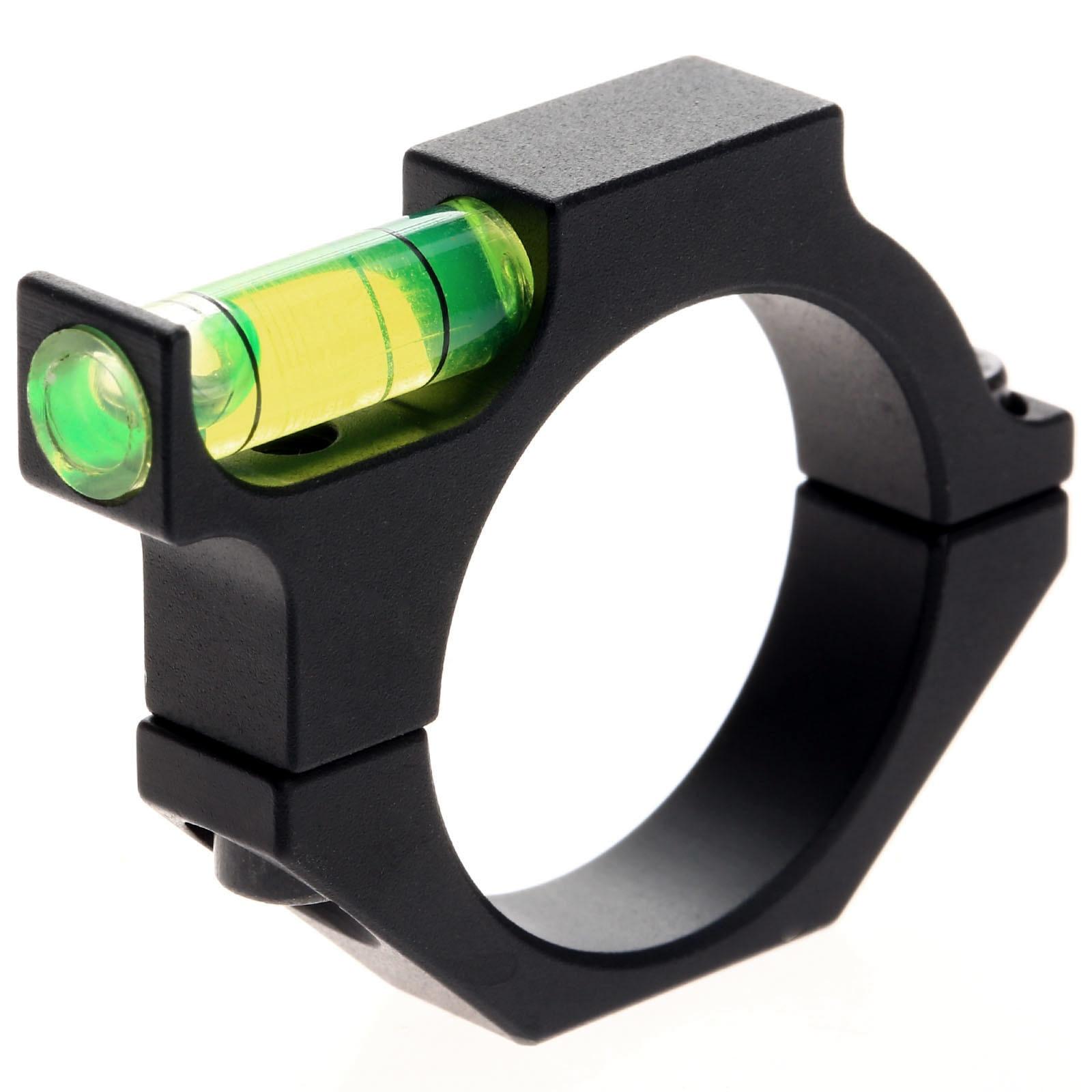 "Rifle Scope Spirit Laser Bubble Level with 25.4mm 1/"" Ring Mount Holder Aluminum"