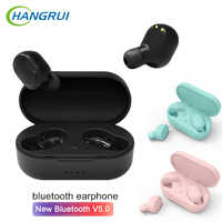 A6s TWS M1 Wireless Bluetooth EarPhone PK Redmi Airdots 5.0 Wireless Earbuds Stereo Headsets With Mic Handsfree Earbuds PK i200