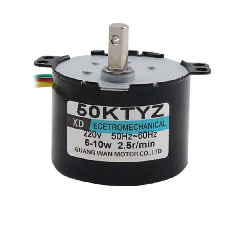 50KTYZ Permanent Magnet Synchronous <font><b>Motor</b></font> <font><b>220V</b></font> AC <font><b>Motor</b></font> Positive And Negative Gear Reduction <font><b>Micro</b></font> <font><b>Motor</b></font> Slow Speed Small <font><b>Motor</b></font> image