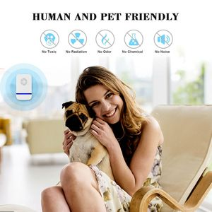 Image 5 - 4 pcs Household Pest Rejector Ultrasonic mosquito repellent electric pest control repellents for Rats Spiders flies