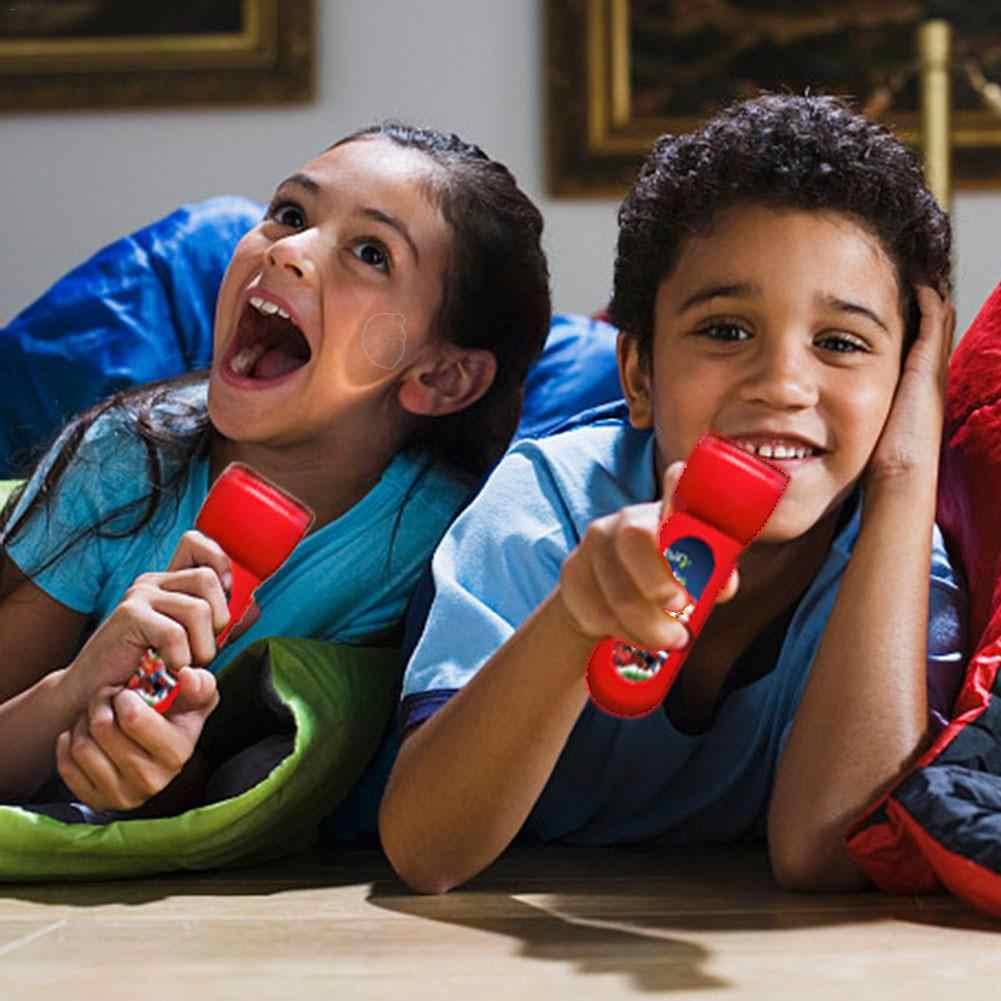 Новогодняя история, проекционный фонарь, светящаяся игрушка, отличный развивающий подарок для маленьких мальчиков и девочек