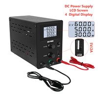 30V 10A lab Power Supply Adjustable DC LCD 4 Digital Display 110V/220V Voltage Regulated Switching Power Source 60V 5A 120V 3A