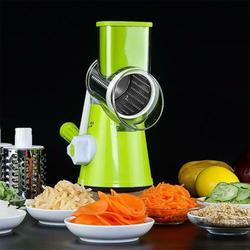 قطاعة الخضراوات أداة تقطيع الطعام متعددة الوظائف قطاعة لولبية أدوات المطبخ يد جديدة متعددة الوظائف