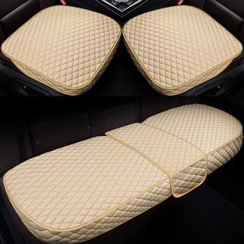 Car Seat Cover Set Universal Covers for Land Rover Defender Discovery 2 3 4 5 Sport Evoque Freelander 2 Range Rover Sport Velar