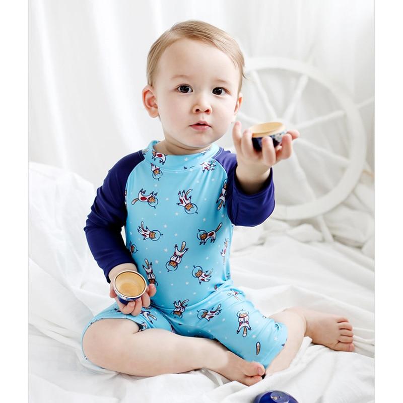 Foreign Trade South Korea New Style KID'S Swimwear Men And Women Children 1-7 Years Old Baby Swimwear Amazon AliExpress BABY'S S