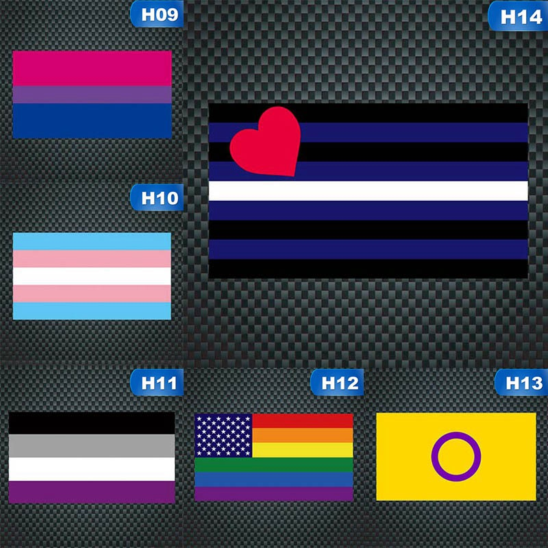 RAINBOW FLAG METAL NOVELTY LICENSE PLATE TAG FOR CARS LGBT movement