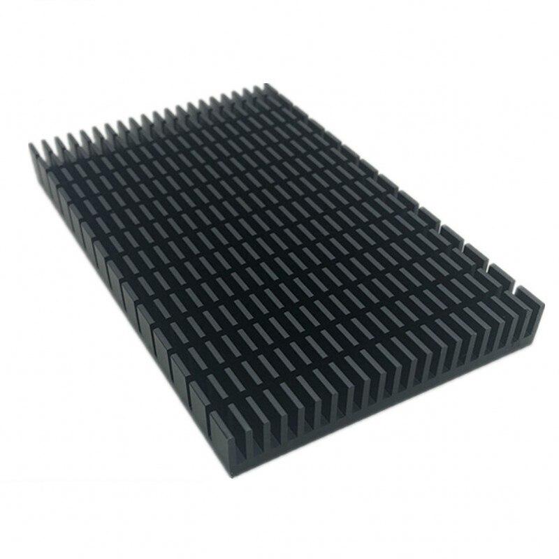 1PCS High Quality High Power Aluminum Radiator 150*93*15MM Heat Sink Aluminum Black Heat Sink