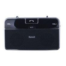 Elistoooop автомобильный беспроводной 4,0 Bluetooth громкая связь комплект в автомобиль солнцезащитный козырек HandsFree зарядное устройство Mp3 плеер для телефона автомобиля