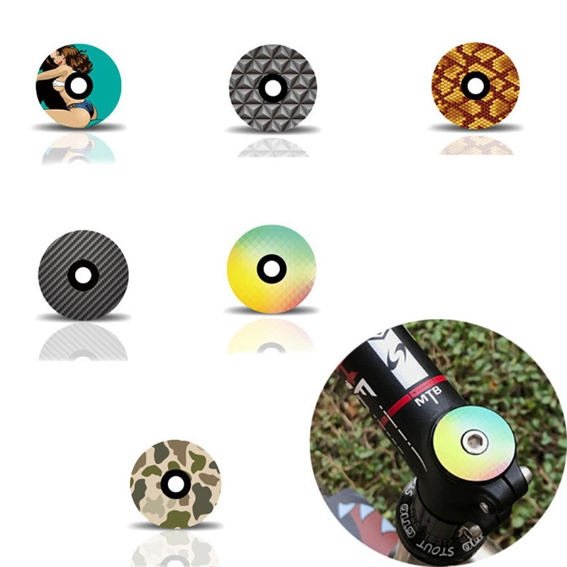Superlight Bicycle Bowl Cover Stem Top Cap Headset Cover For 28.6mm 1 1/8