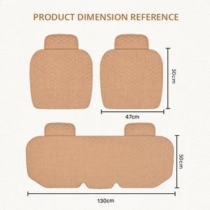 Image 5 - AUTOYOUTH pokrowce na siedzenia samochodowe przód/tył/pełny zestaw wybierz poduszki na siedzenia samochodowe tkanina lniana akcesoria samochodowe uniwersalny rozmiar antypoślizgowy