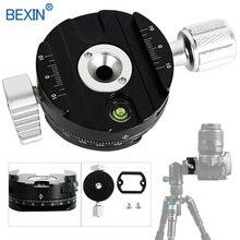 Быстроразъемный зажим для крепления камеры Dslr, Крепление для штатива, адаптер с поворотом на 360 градусов, зажим для панорамной съемки, штатив для камеры arca swiss
