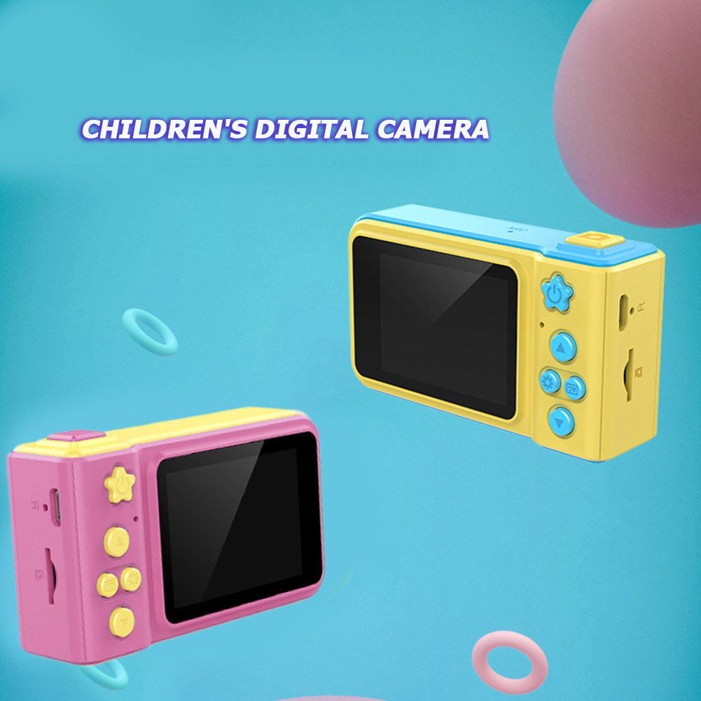 2 Inch HD Screen Kids Mini Camera Video Toys Battery Powered 2MP Photography Outdoor Parent-child Interactive Toy