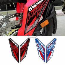 Dla Honda CRF1000L afryka Twin 2016 2019 2017 2018 3D błotnik motocyklowy Fairing ochronne błotniki naklejka