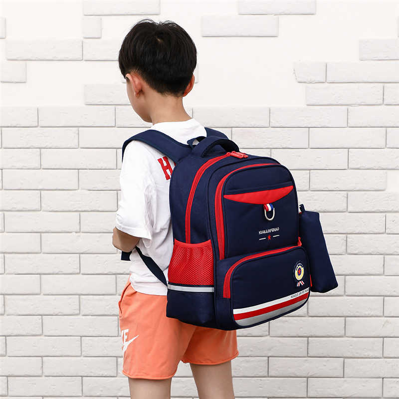 Children's Nylon Backpack for Grade 1-3 Little Boys Bookbag Back to School Stuff rugzak Kids Bag knapsack;mochila escolar