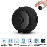 HD 1080P micro Video Camera WiFi Home Security P2P Camera Remote Control Small Cameras Support 128G TF card Wireless Surveillanc